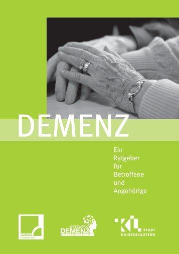 Ein Ratgeber für Betroffene und Angehörige - bei den Senioren in ...