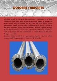 Scheda tecnica COLONNE FLANGIATE - pancera tubi e filtri srl