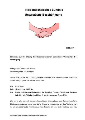 Einladung und Anmeldeformular als pdf-Datei