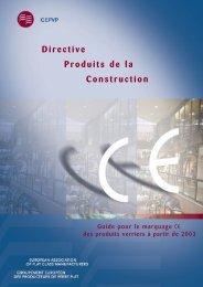 Directive Produits de la Construction - Glass for Europe