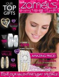 Diamond Double Heart Pendant - Zamel's