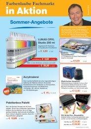 Sommer-Angebote Farbenlaube Fachmarkt