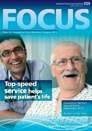 Focus Magazine - Bradford Teaching Hospitals NHS Foundation Trust