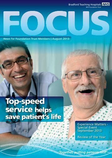 Focus Magazine - Bradford Teaching Hospitals NHS Foundation Trust