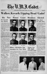 The Cadet. VMI Newspaper. April 24, 1964 - New Page 1 [www2.vmi ...