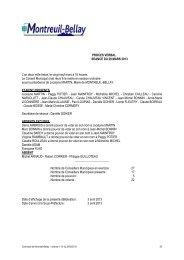 procès verbal du 29 mars 2013 - Montreuil-Bellay