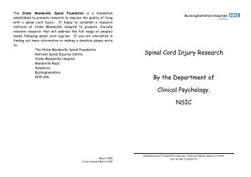 spinal cord stimulation thesis Spinal cord stimulation fact sheet spinal cord stimulation overview spinal cord stimulation (scs) devices are approved by the us food and drug administration (fda) as a.