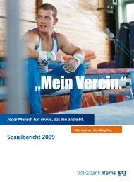 Sozialbericht 2009 - Volksbank Stuttgart eG