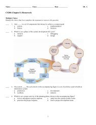 ExamView - Chap11-Hwk-and-Solutions.tst
