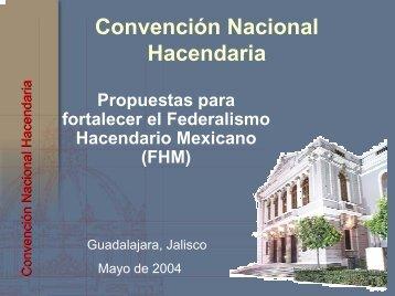 Propuestas para fortalecer el federalismo hacendario ... - Indetec