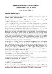 refondation de l'école de la République» engagée ... - Saint-Nazaire