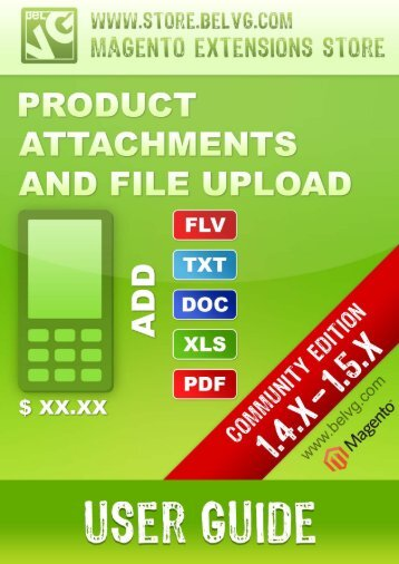 Product Attachments and File Upload - BelVG Magento Extensions ...