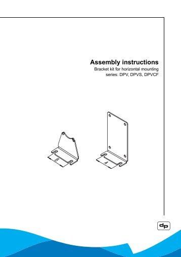 Assembly instructions - DP Pumps
