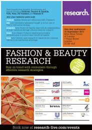 Fashion & Beauty Research conference, 15 September 2011