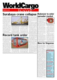 March Front Cover - WorldCargo News Online