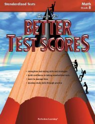 Student Book: Grade 8 - Perfection Learning