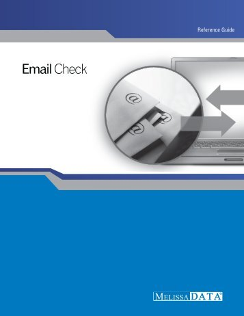 Email Check - Melissa Data