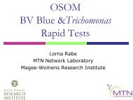 OSOM BV Blue &Trichomonas Rapid Tests