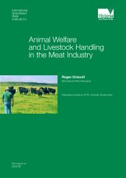 Animal Welfare and Livestock Handling in the Meat Industry