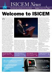 ISICEM - International Symposium on Intensive Care and ...