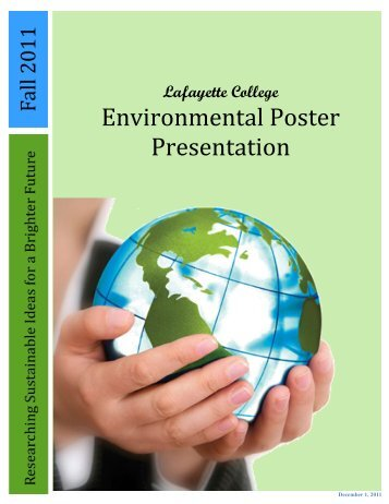 Review of 2011 Posters - Sites at Lafayette - Lafayette College