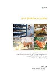 B7-III Multiplier les volailles - Aviforum