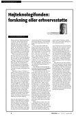DTU: Fri bil til Rektor - FORSKERforum - Page 6