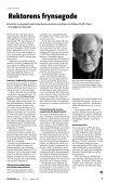 DTU: Fri bil til Rektor - FORSKERforum - Page 7