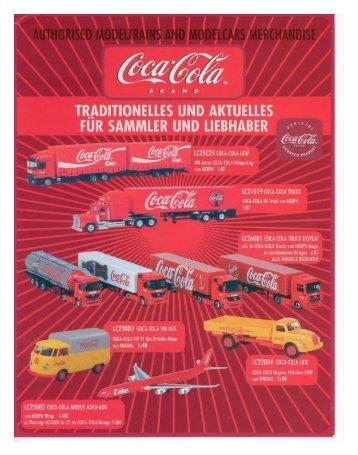 2004 CocaCola - Modellismo ferroviario