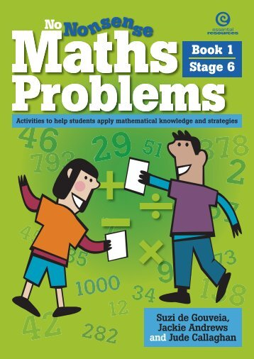 Maths Problems Book 1 Stage 6.pdf - Learning on the Loop
