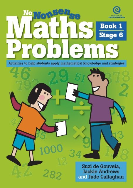 Maths Problems Book 1 Stage 6 pdf - Learning on the Loop