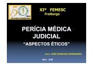 4) Perícia Médica Judicial/Dr. José Francisco Bernardes