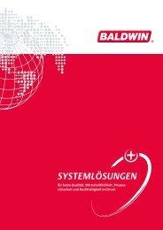 für beste Qualität, Wirtschaftlichkeit, Prozess - Baldwin Technology ...