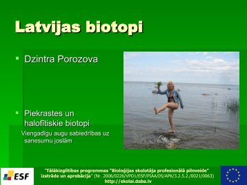 Latvijas biotopi