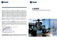 Laser Family Folder - Saab