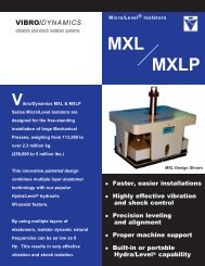 MXL MXLP - Vibro/Dynamics Corporation