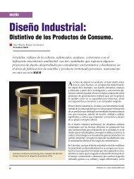 Diseño Diseño Industrial - Revista El Mueble y La Madera