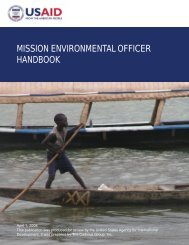 Download - USAID: Africa Bureau: Office of Sustainable Development