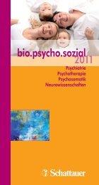 2011 bio.psycho.sozial - Schattauer