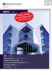 INFO 1-2011 - Henry Schein