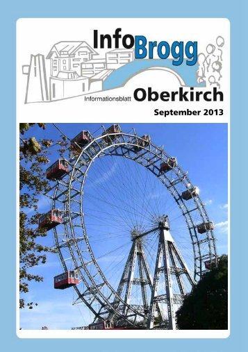 September 2013 - Pfarrei Oberkirch