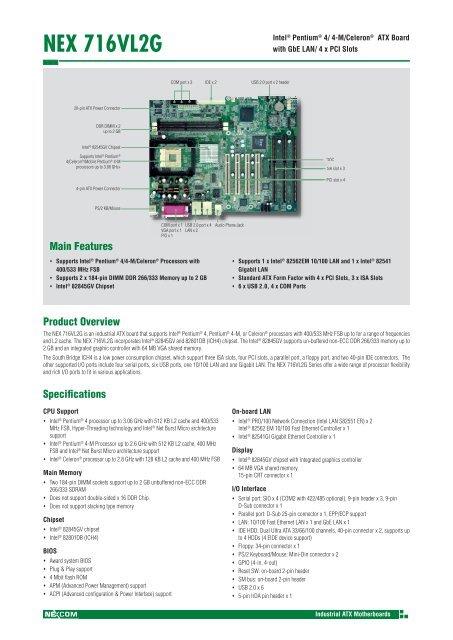 NEX 716VL2G - Vox Technologies
