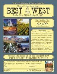 2499 - Travel Treasures & Tours