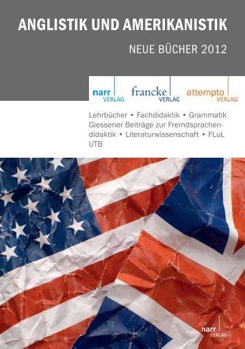ANGLISTIK UND AMERIKANISTIK