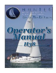 38 Operator's Manual.. - Marlow-Hunter, LLC