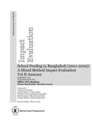 A Mixed Method Impact Evaluation Vol II Annexes - Vol. II