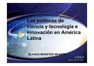 Políticas Científicas y tecnológicas en América Latina - CIEM