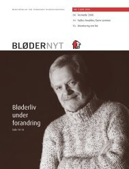 BløderNyt, juni 2008 - Danmarks Bløderforening.