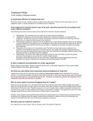 a pdf copy to read about the FAQs in relation to head lice