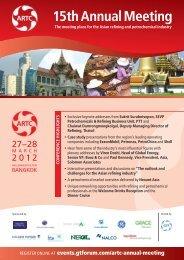 ARTC15th 8pp 2:brochure - Global Technology Forum